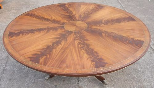 Circular Dining Table to Seat Ten People